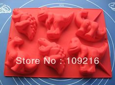 Compare Prices on Dinosaur Muffin Pan- Online Shopping/Buy Low . Dinosaurs Series, Fun Crafts To Do, Diy Molding, Dinosaur Birthday, Cake Decorating, Decorating Ideas, Cake Mold, Food Grade, Party Cakes