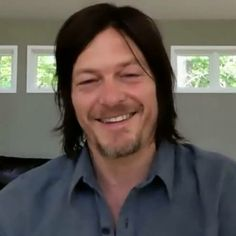 Love that smile. Nothing like a Reedus smile