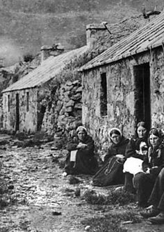 """Hirta St.Kildas Scotland... DBR - The poor should definitely be featured just to give the play more life and reality. Wherever you go the poor are often segregated by their situation and will be found close together in small home. Given the era this is a good look to represent the """"slums"""" of their kingdom."""
