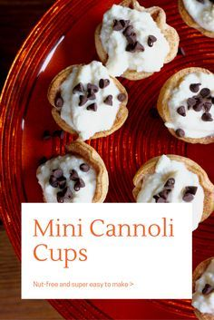 Mini Cannoli Cups Recipe - Countdowns and Cupcakes