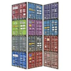 Biombo containers - Westwing.com.br - Tudo para uma casa com estilo
