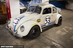 Speedhunters Petersen Museum VW Beetle Herbie The Love Bug