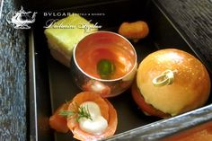 Afternoon Tea ❤ BVLGARI Il bar