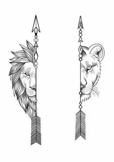 Lion Head Tattoos, Cool Wrist Tattoos, Mommy Tattoos, Cool Small Tattoos, Dope Tattoos, Skull Tattoos, Tattoo Arm Designs, Lion Tattoo Design, Couples Tattoo Designs