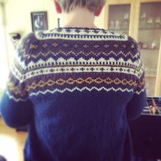 #nordkappkofte #knitting #strikking #homemade