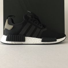 watch a85be e38cb DS Adidas NMD R1 Black Cargo Trail Size 9.5