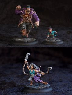 Hello, wanted to share my guild ball paintjobs with you guys. I started with alchemists mostly because I really wanted to paint Smoke. I choose a ...
