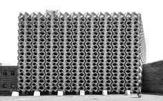 Stadthalle Chemnitz,  Chemnitz (formerly Karl-Marx Stadt), Germany  built between 1969 and 1974,  architect Rudolf White, Hubert Schiefelbein  (c) BACU