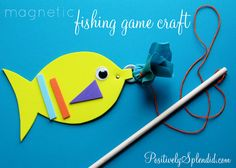 "Fun for the kids... I might add sticky notes with chores for them to blindly ""fish"" for."