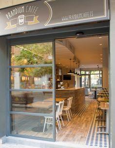 up3 - puerta automatica para Cafeteria Prandium