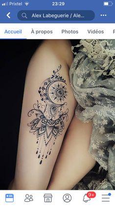 Celebrate Femininity With 50 Of The Most Beautiful Lace Tattoos You've Ever Seen dessins de tatouage 2019 dessins de tatouage 2019 lace tattoo ideas © Alex Labeguerie 💟❤💟❤💟 dessins de tatouage 2019 Lotusblume Tattoo, Shape Tattoo, Get A Tattoo, Body Art Tattoos, Girl Tattoos, Tattoo Small, Tatoos, Wrist Tattoos, Ladies Thigh Tattoo