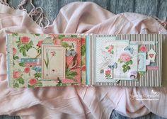 Моё любимое хобби: Мини-альбом сумочка)).