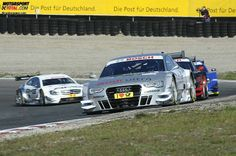 In action on track :) #DTM
