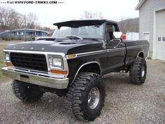 1979 Ford F250 Ranger - my heart is beating very fast right now, love, love, love old Rangers!