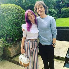 Devoted dad: mick jagger spent some quality time with daughter georgia -may in london Mick Jagger Children, Bffs, Charlie Brown, Billy Preston, Jade Jagger, John Mayall, Sunshine Love, Ronnie Wood, Georgia May Jagger