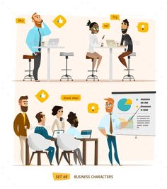 Business Characters Collection - Concepts Business Download here : http://graphicriver.net/item/business-characters-collection/16148062?s_rank=235&ref=Al-fatih