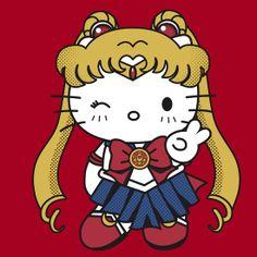 4dcdd2ec49 Hello Sailor Moon by Rachael Thomas Sanrio Characters