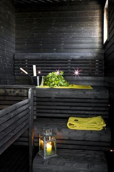 Black Sauna  photo credit: tikkurila.fi