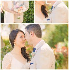 Pastel Bouquet | Viansa Winery Wedding | Sonoma, CA |