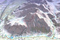 Ben Nevis route map