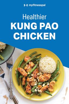If you have 20 minutes, you have time to whip up this fast, fresh kung pao chicken! Faster than takeout, this healthy alternative to traditional fast food is easy to make and big enough to feed a family of four. Healthy Food Alternatives, Healthy Eating Tips, Clean Eating Snacks, Healthy Cooking, Healthy Recipes, Healthy Snacks, Myfitnesspal Recipes, Mediterranean Recipes, Food For Thought
