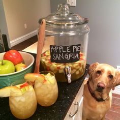 apple pie sangria. Making for New Year's Eve!
