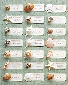 Shell placecards