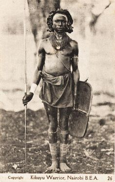 Beautiful pictures of Kenya people - Old East Africa Postcards African History, African Art, Colonial, Africa Painting, Africa People, Native American Images, African Tribes, Martial Artists, Photographs Of People
