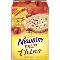 newton fruit thins - 2nd favorite store bought cookies