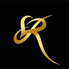 Logo Design Love, Lettering Design, Icon Design, Design Art, Letter R Tattoo, S Letter Logo, Sr Logo, Type Logo, Letter Photography