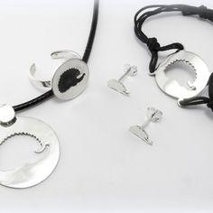 Ezüst Sünis szett, Ékszer, Ékszerszett, Gyűrű, Nyaklánc, Ékszerkészítés, Ötvös, Meska Headphones, Headpieces, Ear Phones