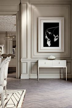 The Italian Art Deco Inspired Mirrored Topped Console is simply exquisite. This remarkable piece makes a stunning statement for any living space. Impeccably executed by. Interior Design Living Room, Living Room Designs, Living Spaces, Living Room Inspiration, Interior Inspiration, Luxury Home Decor, Luxury Homes, Interiores Art Deco, Plafond Design