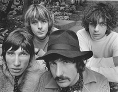 Pink Floyd - The group first referred to themselves as the Pink Floyd Sound in late 1965. Barrett created the name on the spur of the moment when he discovered that another band, also called the Tea Set, were to perform at one of their gigs. The name is derived from the given names of two blues musicians whose Piedmont blues records Barrett had in his collection, Pink Anderson and Floyd Council.