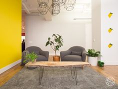 Vibrant Design for JW Player's NYC Office - @Homepolish New York City