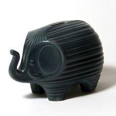 Midnight elephant bank  JONATHAN ADLER