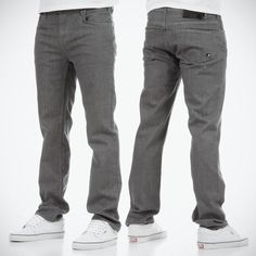 DC Straight slim jeans - Grey