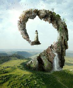 Landscape Building Imaginative pic on Design You Trust