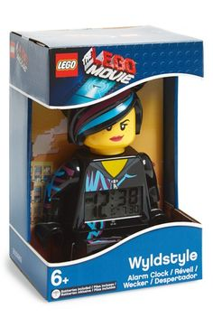 Boy's LEGO 'The LEGO Movie - Wyldstyle' Alarm Clock