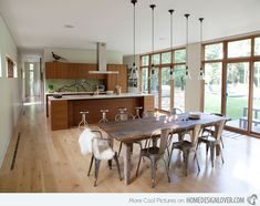 15 Different Kitchen Table Design Ideas | Home Design Lover