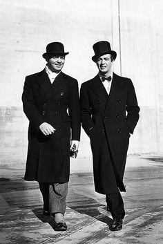 Clark Gable and Robert Taylor, 1939.