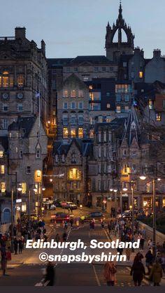 Edinburgh, Scotland ©snapsbyshirin