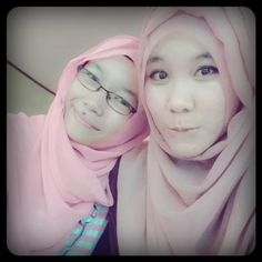 With my bestie ^^