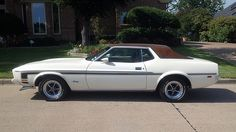 1973 Ford Mustang Grande 351 CI, Factory Air Conditioning presented as lot W43 at Dallas, TX 2015 - image2