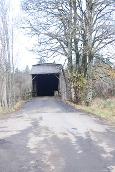 "The Grays River Covered Bridge was built in 1905 and covered in 1908. It is 148 feet long and 14 feet wide, with two 9-foot ""porches"" on the ends. Construction is ""Howe Truss framing"". The bridge was restored in 1988-1989. The Wahkiakum County Historical Society states that this is the last covered bridge in the State of Washington which is still used by a public highway. The Grays River Covered Bridge was added to the National Register of Historic Places in 1971."
