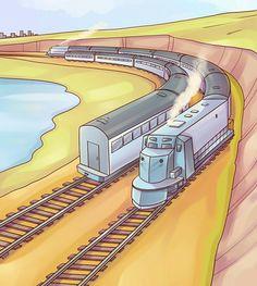 Zoek de fout  (trein zonder voorkant)