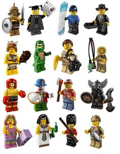 Lego 8805 Complete Set of 16 Minifigures Series 5 for sale online Lego Minifigure, Blind, Egyptian Queen, Lego Toys, Legoland, Lego Brick, Building Toys, Legos, New Series