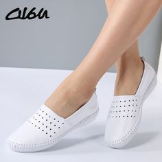 $29.90 O16U women Espadrilles flats shoes Genuine leather cut out slip on Ladies Ballet Flats loafers Female Moccasins Shoes Ballerina    Go shopping now!     Visit us @ https://www.feseldo.com    FREE Shipping    #Feseldo #Fashion #OnlineShopping #Men #Women #Discount
