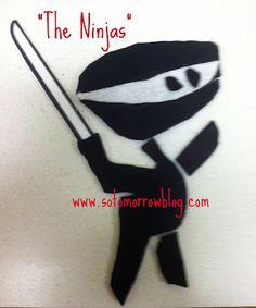 so tomorrow: Flannel Friday: The Ninjas!