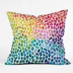 Garima Dhawan Rain 11 Throw Pillow | DENY Designs Home Accessories