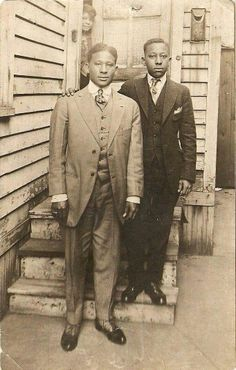 Proud of the black men of the past